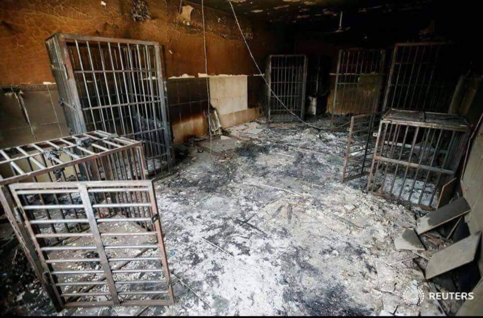 Image of Islamic State-prison in Turkmen Barah /northern Aleppo