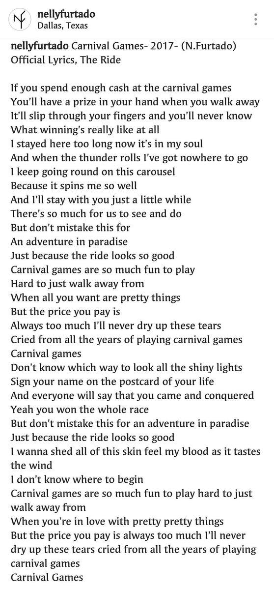 Lyric songs about texas lyrics : Nelly Furtado Czech on Twitter:
