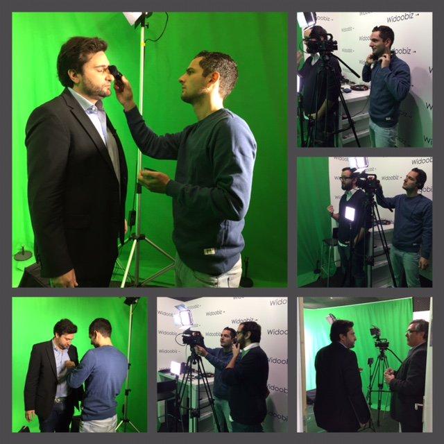 """IT Tuesday : """"making of"""" du tournage du pitch vidéo de @FacilitaTrip ! @CCI_75 @Widoobiz https://t.co/ZORIJINSqN"""