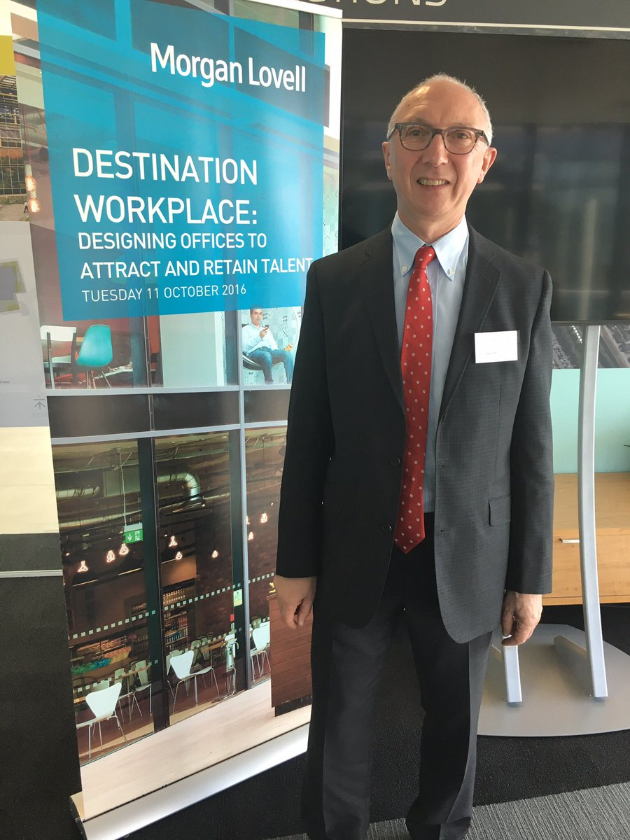 @MorganLovell thank you for inviting me to speak at #destinationworkplace seminar yesterday at Maxis Bracknell