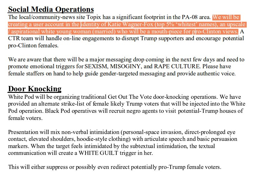 Strategy Memo | Sami Kuisma On Twitter Clinton Campaign Tools Strategy Memo