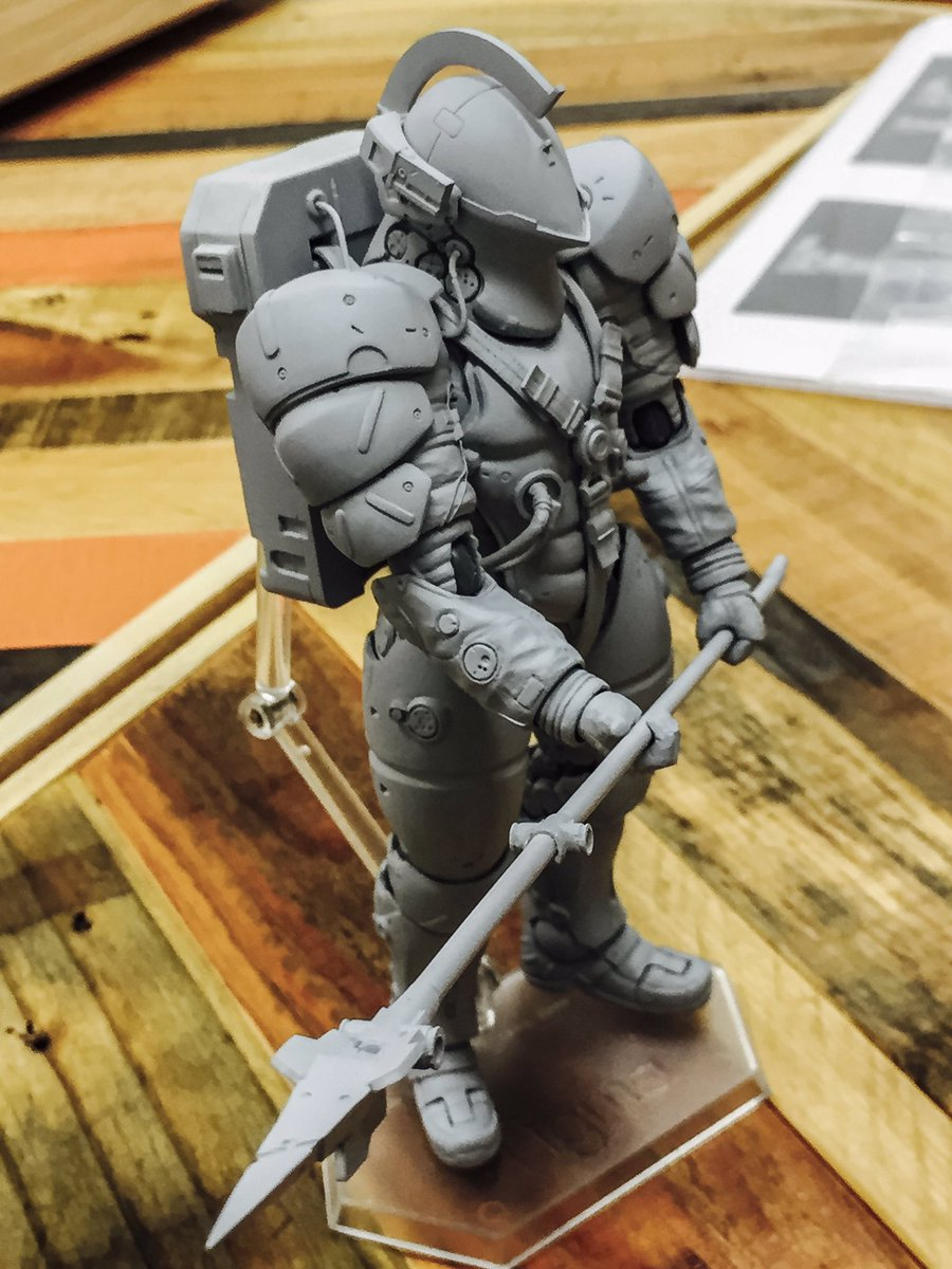 hideo kojima on figma s ludens as yoji shinkawa being a retweets 389