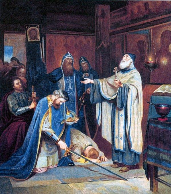 зависимости картинка благословение дмитрия донского сергием радонежским винам сказал