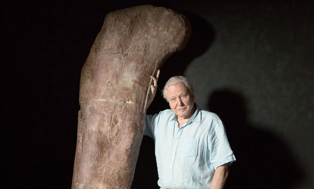It S David Attenborough And The Giant Prehistoric Sea Dragon