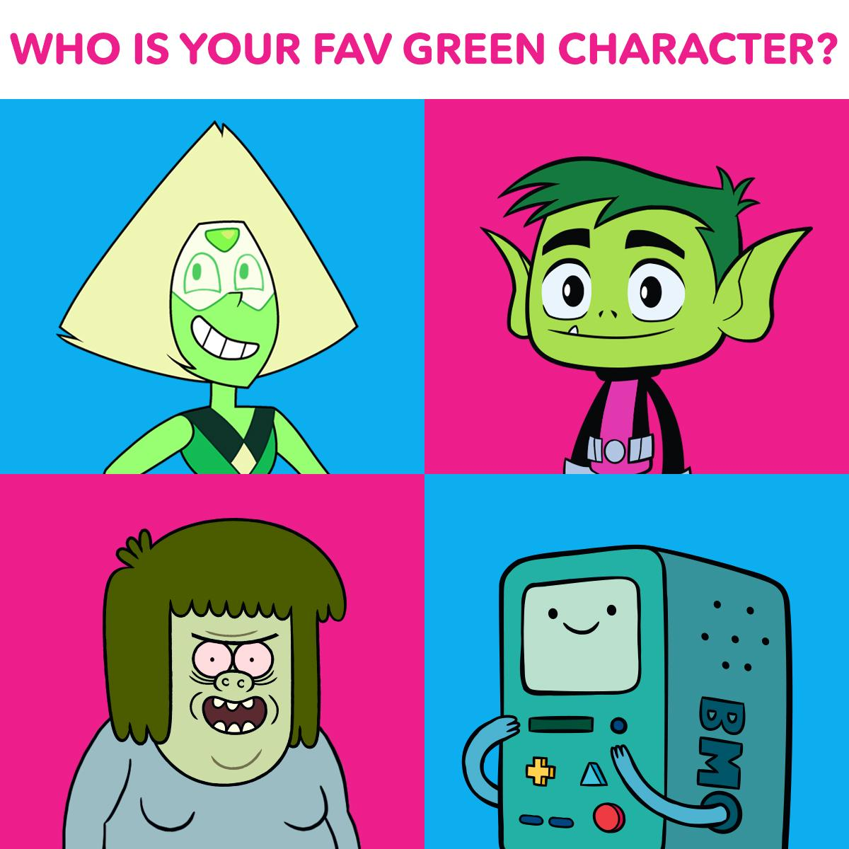 Cartoon Characters Green : Green character cartoon network adultcartoon