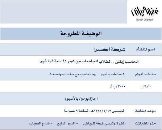 وظائف دوام جزئي للطلاب 7