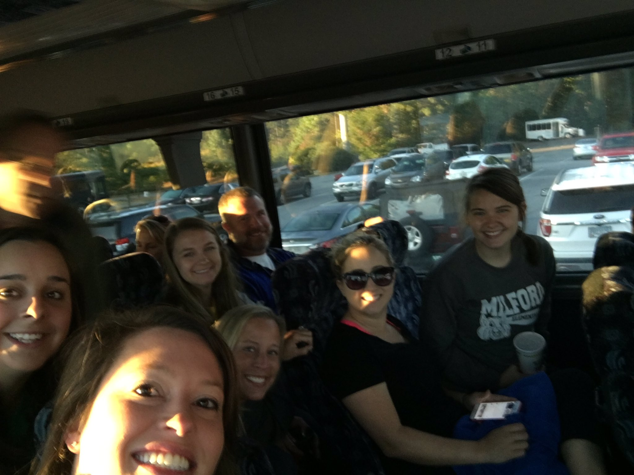Innovation Academy- Minds in Motion! Headed to do some team building! https://t.co/p5xOstaZ04