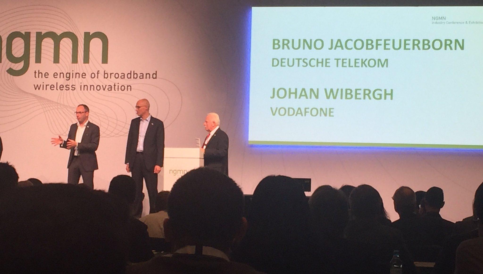 New chairman of NGMN elected: Johan Wibergh, global CTO Vodafone #NGMN_ICE2016 https://t.co/B7EIIgYBCS