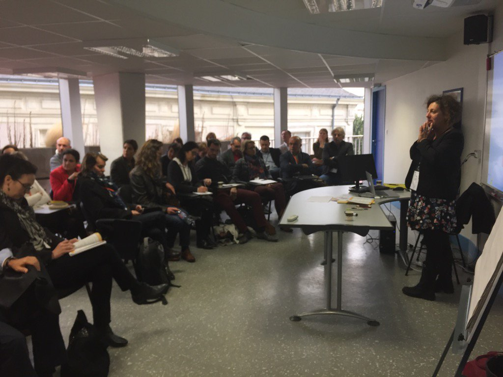 45 participants à l'atelier @aract_pdl partenaire du #ForumRH sur les clés de l'engagement au travail https://t.co/CfzmGoZhVU