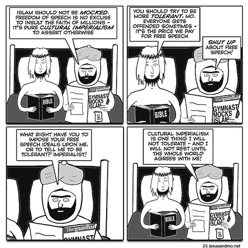Jesus And Mo On Cultural Imperialism