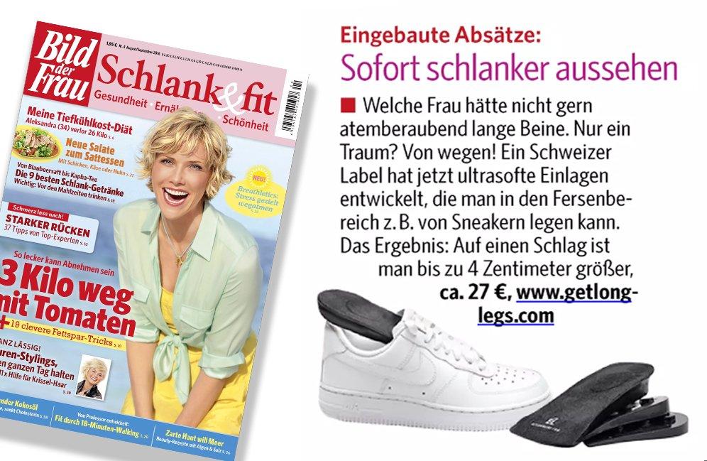 Danke an @bildderfrau_de #schlankundfit #bildderfrau #getlonglegs #schlanker aussehen dank 4 cm mehr Körpergrössepic.twitter.com/xkHdy3sGOL