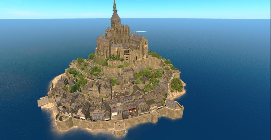 Mont Saint Michel no longer in SecondLife https://t.co/1f1SpzcFHS https://t.co/baHmpddYZX