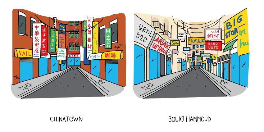 Chinatown / Bourj Hammoud - From my upcoming book #BeirutNewYork See you at the signing event next Thursday! https://t.co/47Gyq1FsIO