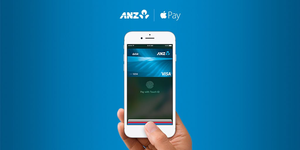 The wait is over…. Apple Pay is here. Use it anywhere you can tap and pay #ANZApplePay https://t.co/fT3Px394AJ https://t.co/S5wiGZxeAN