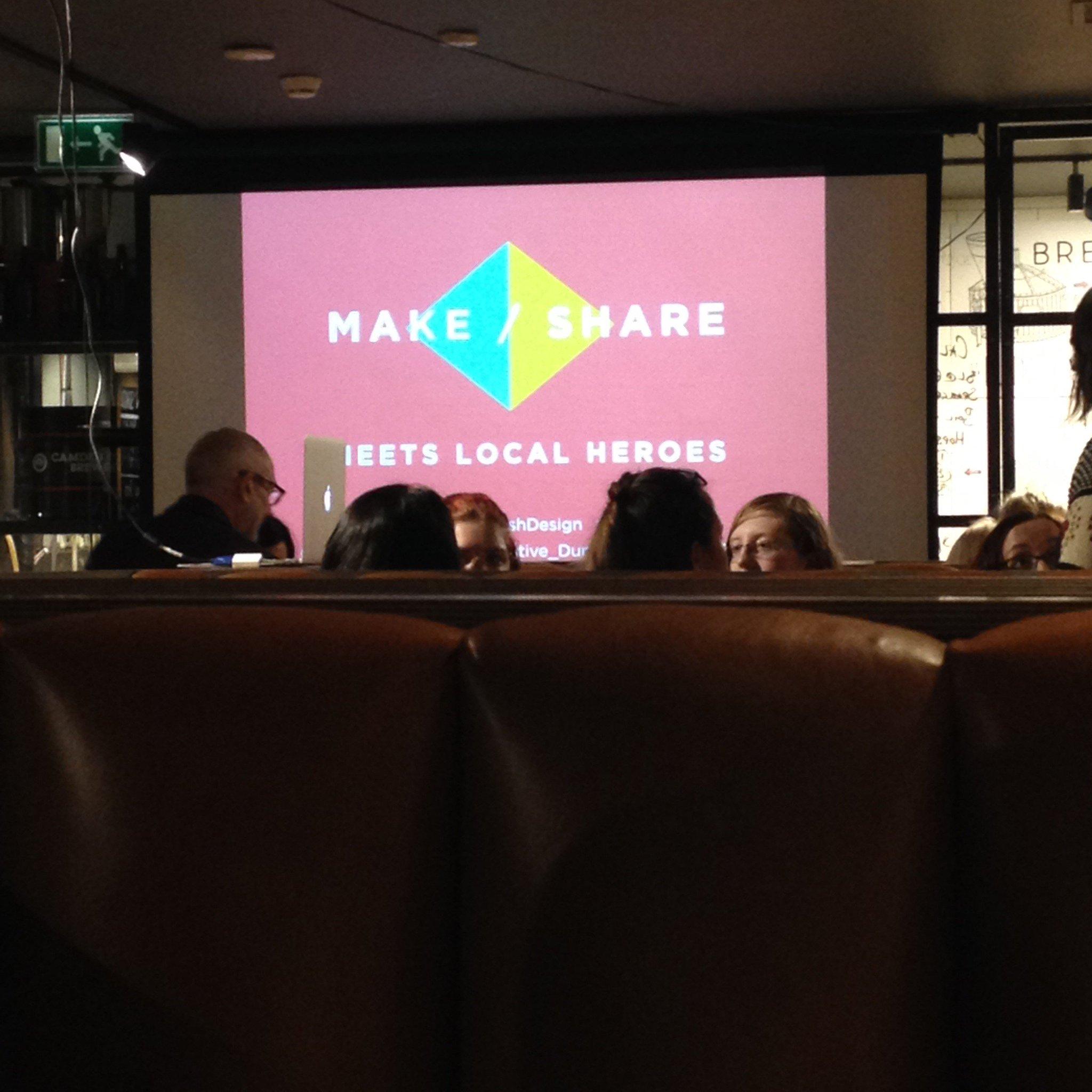 #Makeshare tonight at the @BeerKitchenDUN #localheroes #cbdsn https://t.co/p9lsvbXrqL
