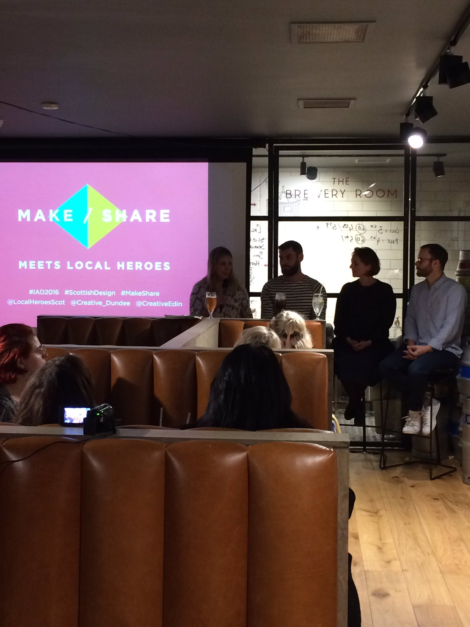 Now it's time for our panel discussion with @StaceyHunterEDI, @LocalHeroesScot @TrakkeBasecamp, @jennie_patt & @tompigeon #makeshare https://t.co/AH6VXZS0zG