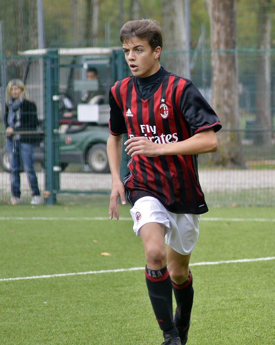 """Paolo Maldini Fans on Twitter """"Daniel Maldini during Milan Cesena"""