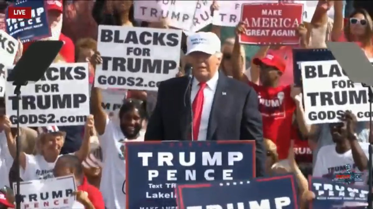 Donald Trump S Minority Outreach Efforts Have Really Paid