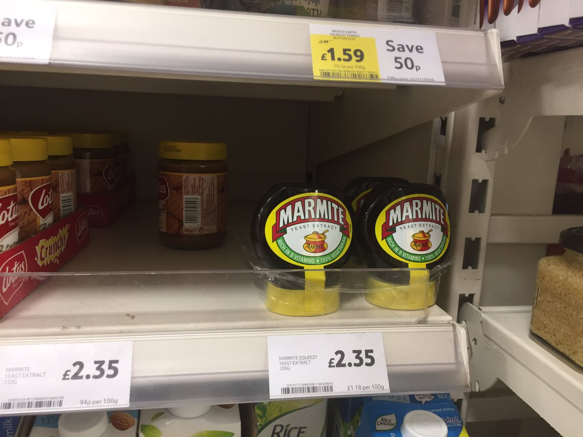The Latest Victims of the Brexit Fallout? Marmite and Pot Noodles