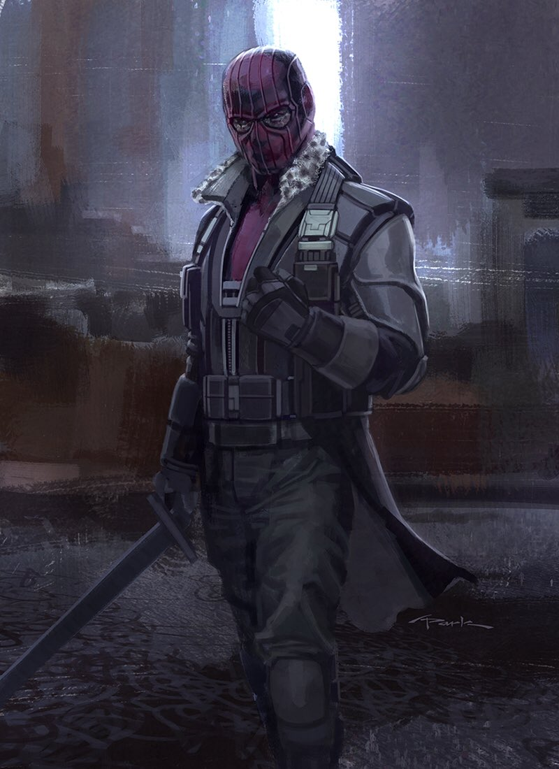 Helmut Zemo concept design by Andy Park