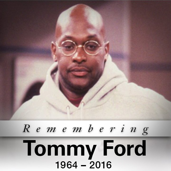 "TMZ: Actor Tommy Ford from ""Martin"" passes away at Atlanta hospital. #TommyFord https://t.co/lYQGEHnIhM https://t.co/9Q2kf83Bwb"