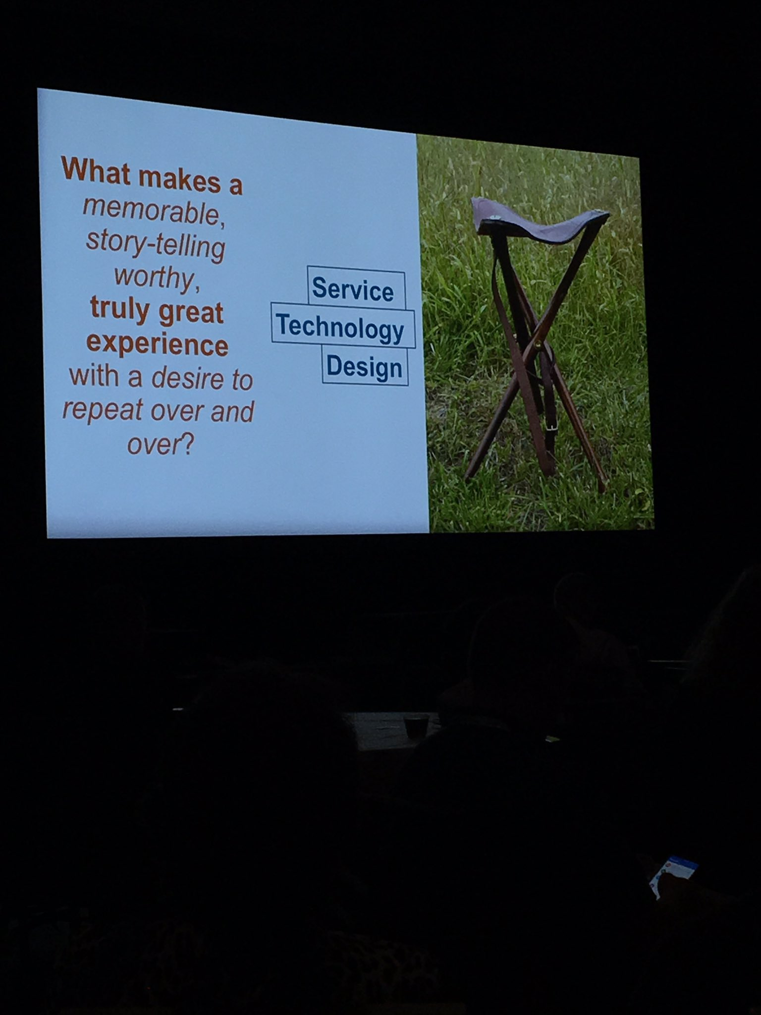 Service, technology, and design have to work together to truly create great experiences #A2OPTIMIZE https://t.co/Tn46DPD8dx