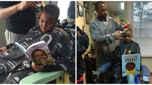 Barbershop cuts prices for kids who read aloud during appointment https://t.co/1zYcnRzjxV https://t.co/ZvutbEaLHP