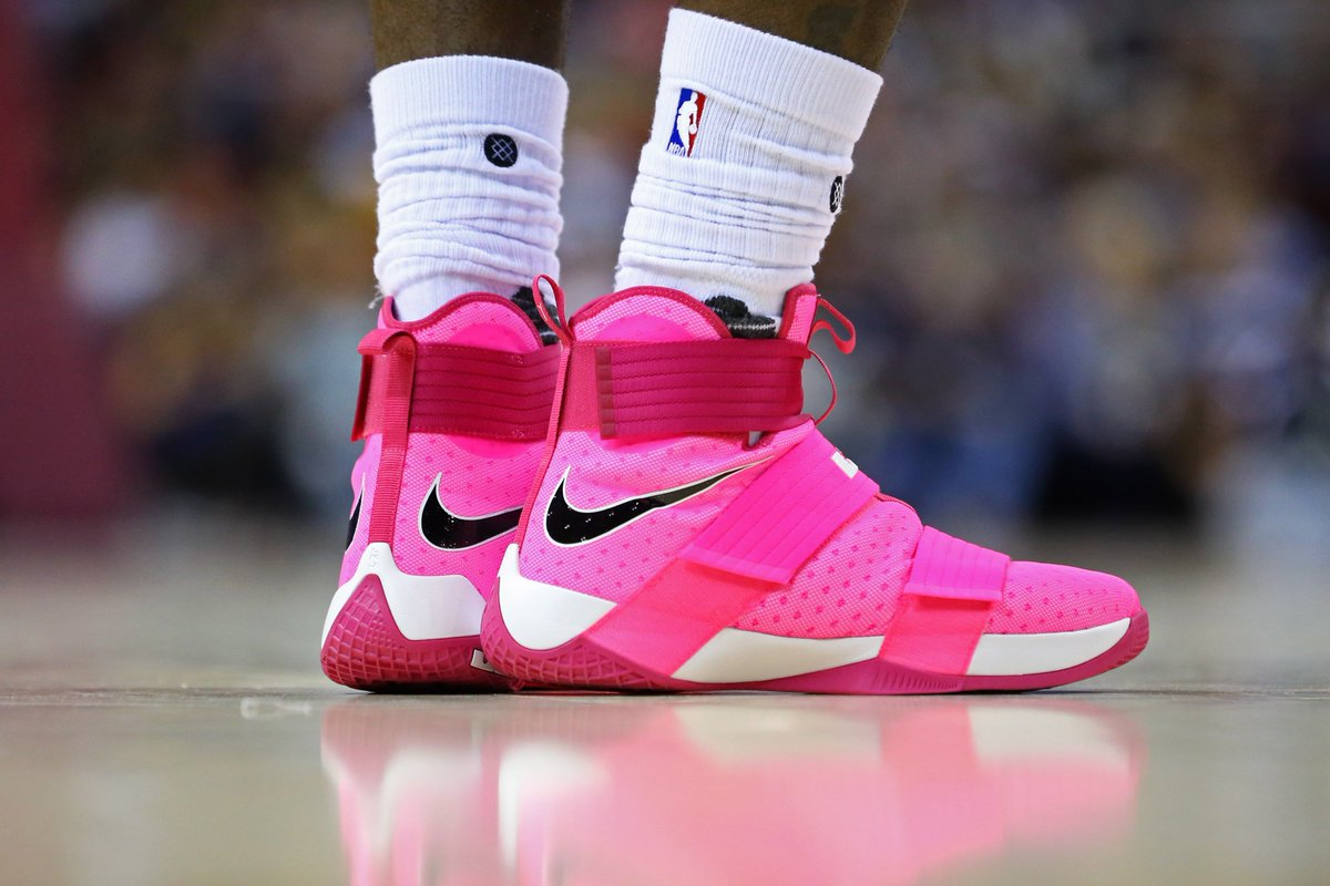 quality design 1dfb3 cbecd ... promo code b r kicks on twitter another look at kingjames in the nike  lebron soldier 10