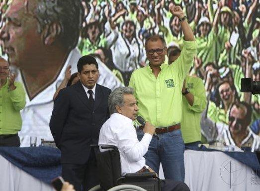 RENUNCIA LENIN MORENO A LA CANDIDATURA DE ECUADOR