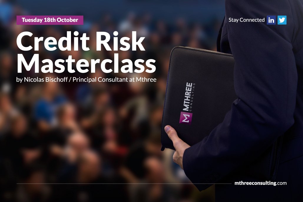 Credit Risk Masterclass Flyer