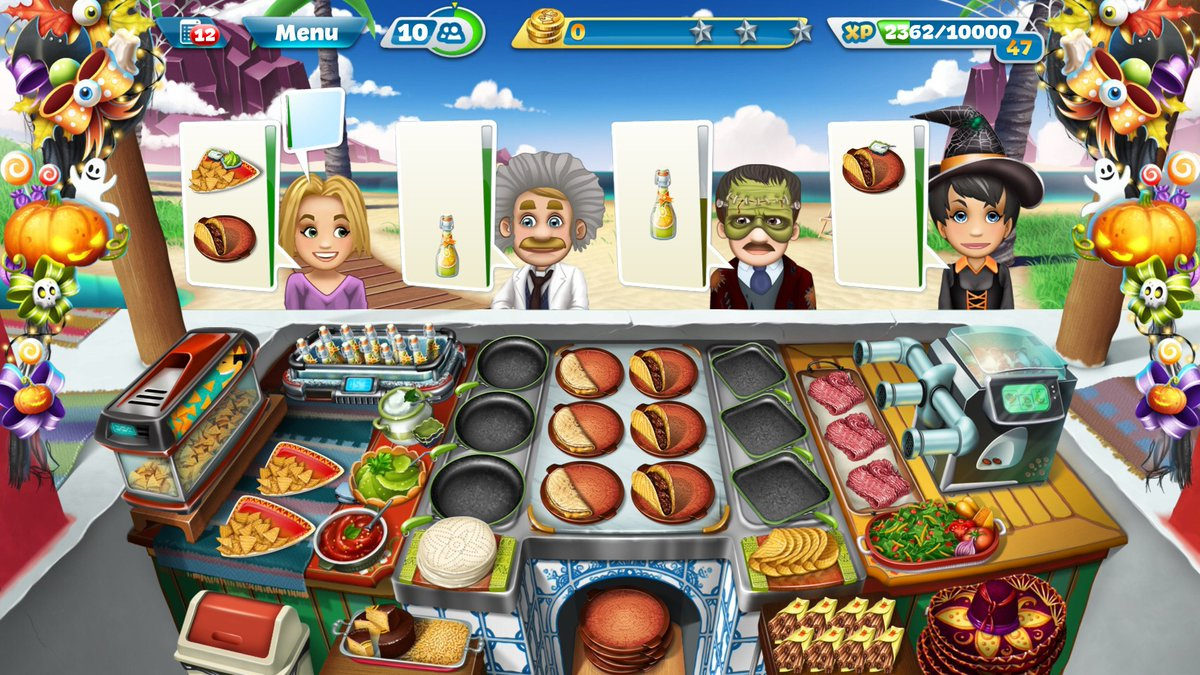 cooking fever upgrade