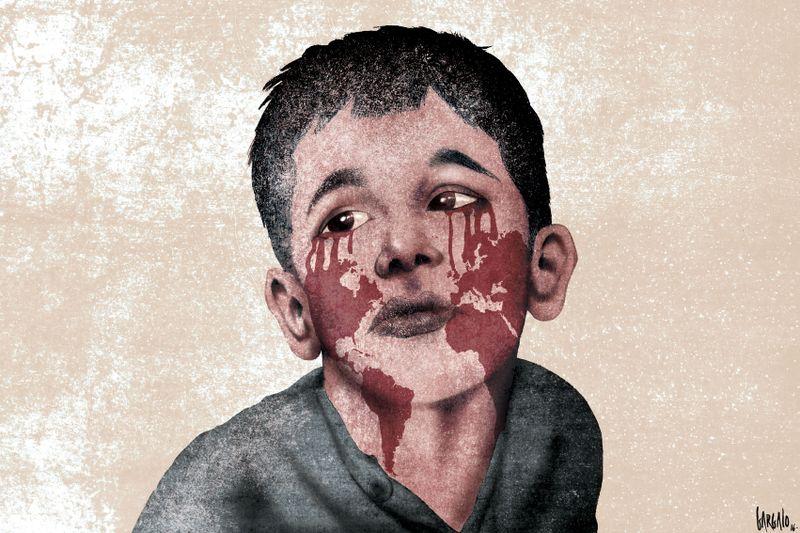 Aleppo: Save the Children, 500 bambini morti o feriti dal fallimento della tregua un mese fa.