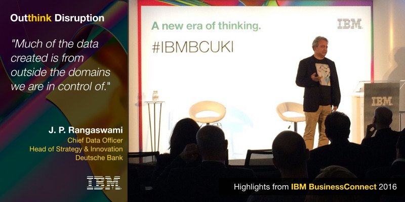 The reality when it comes to data #IBMBCUKI https://t.co/WhYaw3VLkt