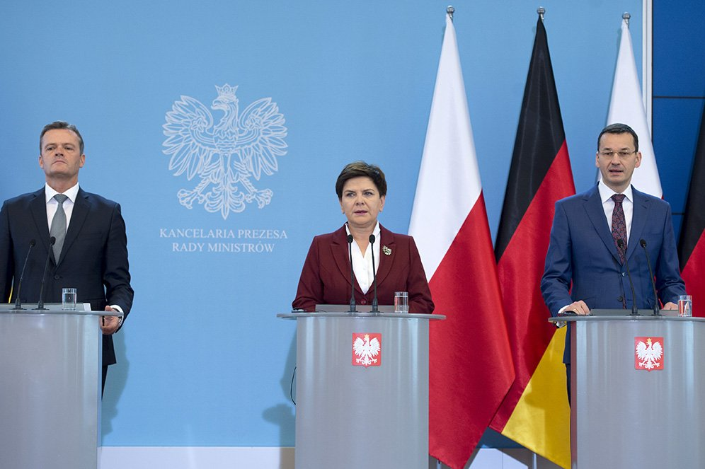 Chancellery of the Prime Minister of Poland on Twitter: