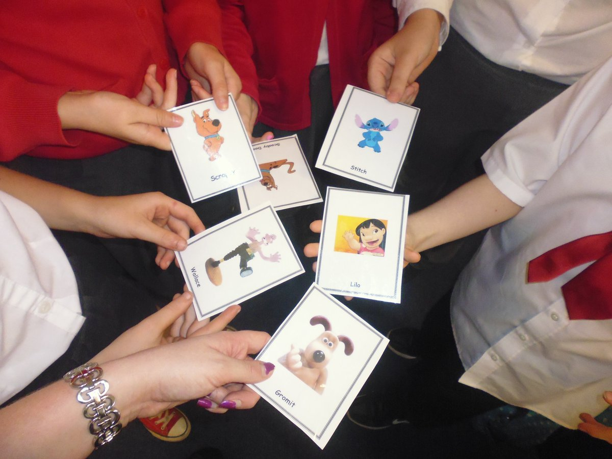 Corpus Christi Ps On Twitter Primary 7a Using Flashcards To Say