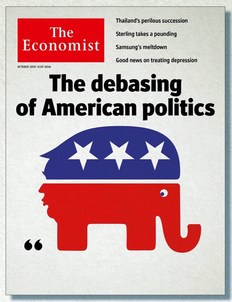 Our great cover this week puts Trump where he belongs. https://t.co/Moct2KsLii