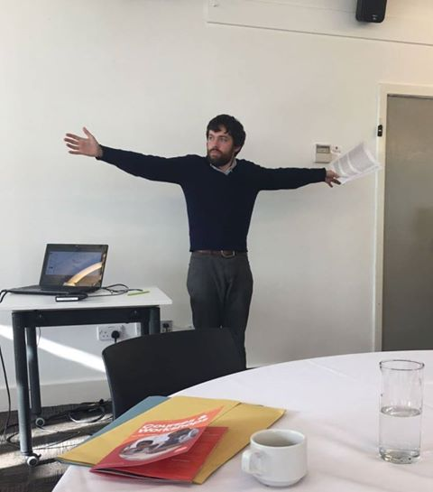 Προωθώντας την #ΚαλήΠρακτικήστονΑυτισμό: ο Dr Hodge,ερευνητής με #αυτισμό, για την υποστήριξη αυτιστικών φοιτητών @UoBAutism #TAEBirmingham https://t.co/BdiWBpm6pa
