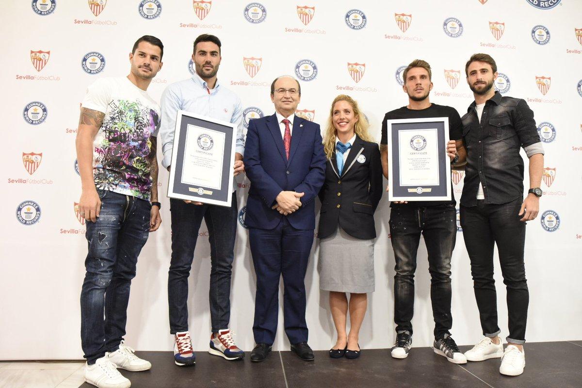 Sevilla entró en los records Guiness por ganar cinco Europa Leagues