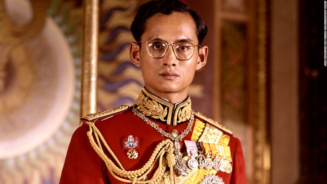 Having ascended to the throne 70 years ago, King Bhumibol was the world's longest-reigning living monarch:… https://t.co/j7Vog1Xn8b