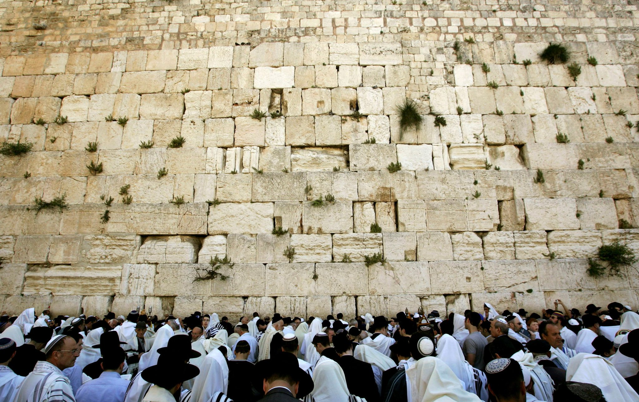The Kotel - to be renamed as the Muslim site Al Buraq according to UNESCO