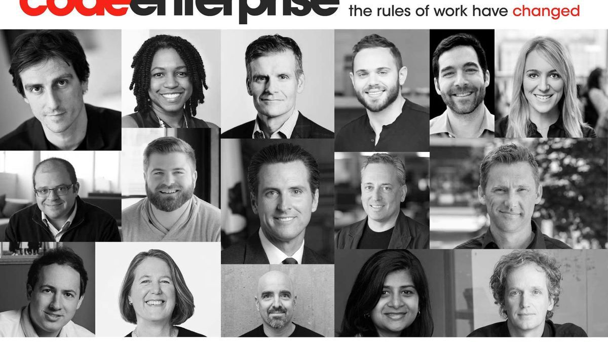 Code Enterprise: The new age of work is here w/Dropbox, Facebook's Workplace, Lyft, Uptake