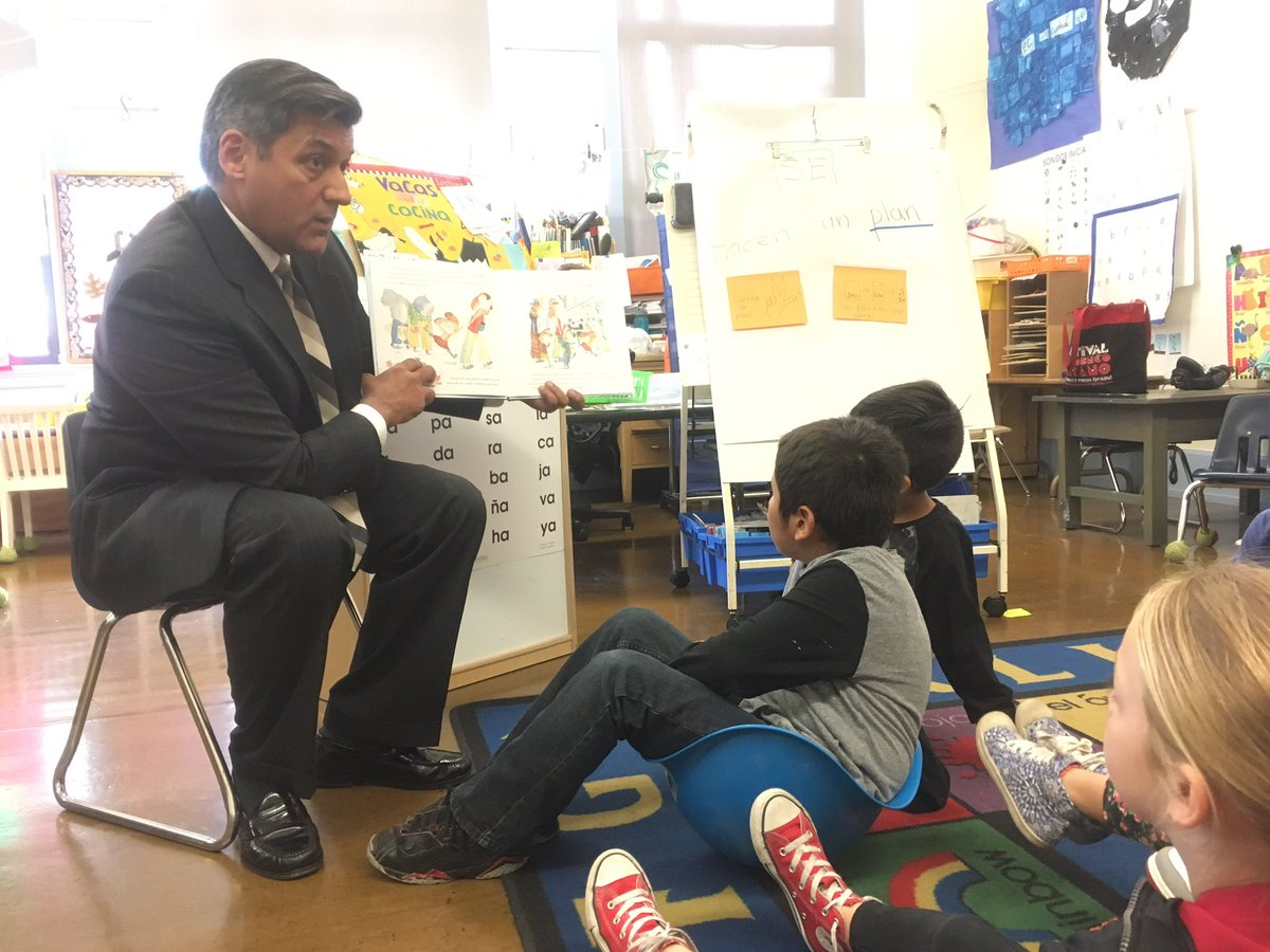 Sf Public Schools On Twitter At Sftreasurer Cisneros Is A Sub