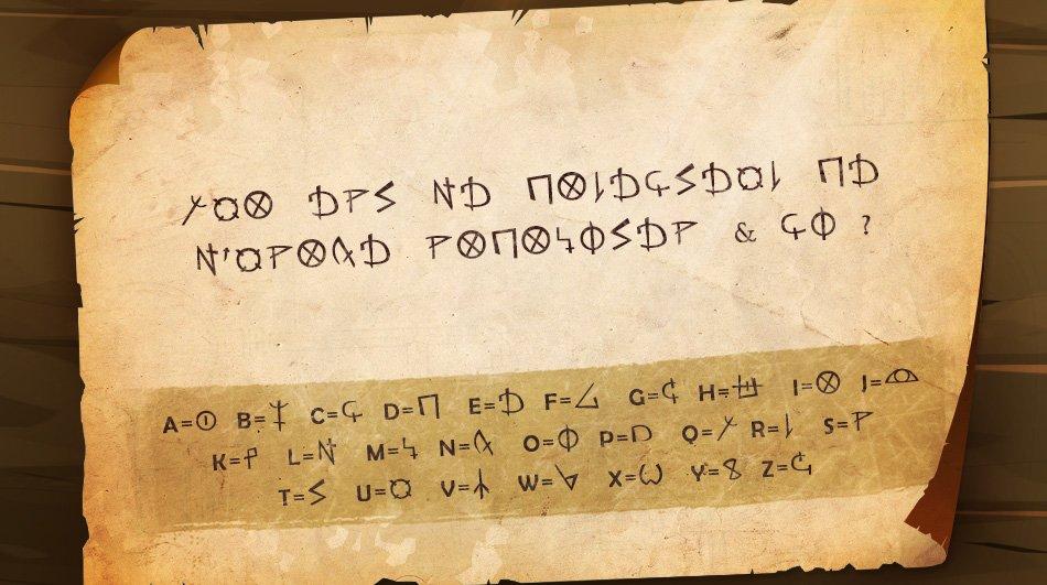 Alphabets amaknéen (de l'an 397 à l'an 988), draconique et brâkmarien CuqA1AWWEAAmslD