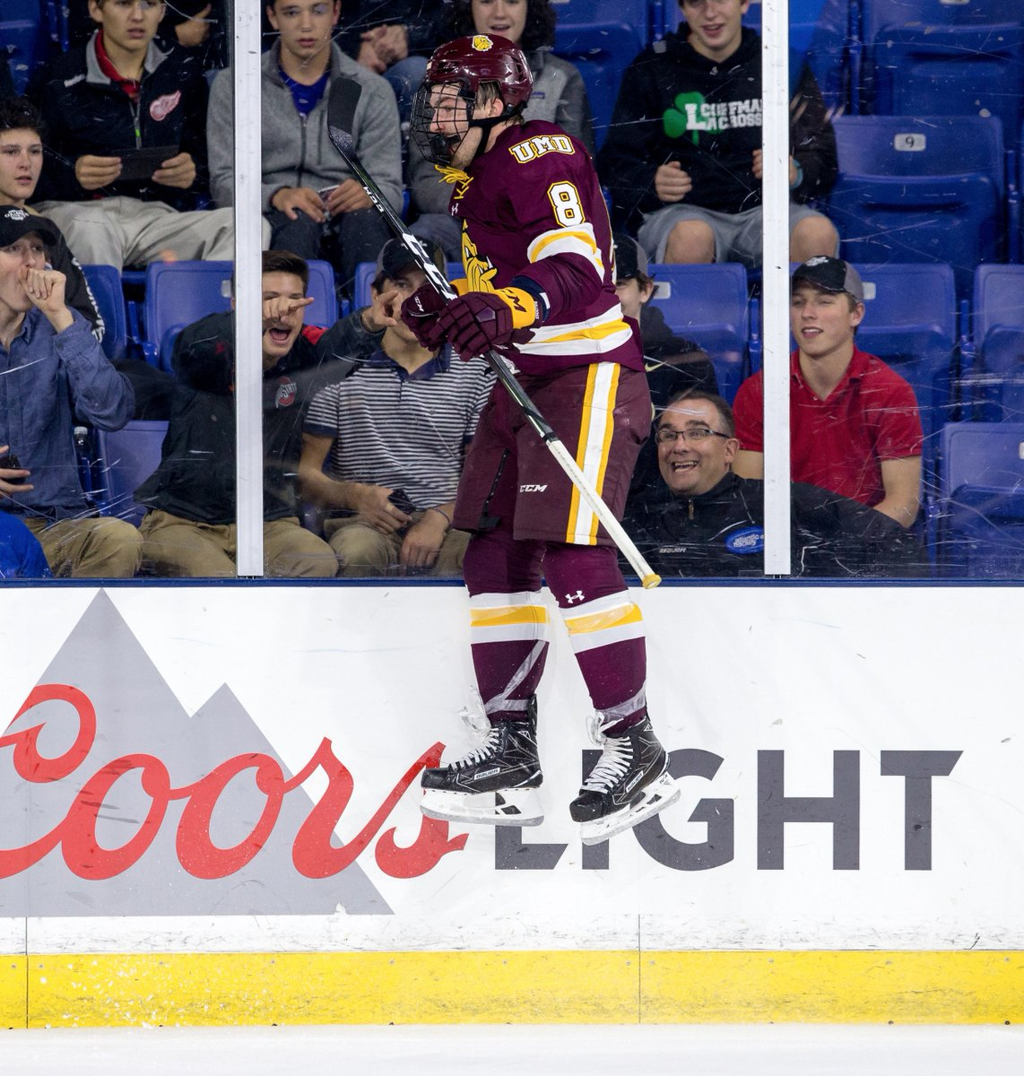 NCAA: Rare College Hockey 1 Vs. 2 Showdown - North Dakota Visits Minnesota Duluth