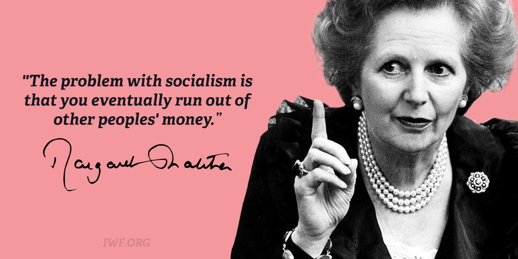 In honor of what would've been Margaret Thatcher's 91st birthday, our favorite Thatcherisms. #HappyBirthday https://t.co/Z1oWttstWn