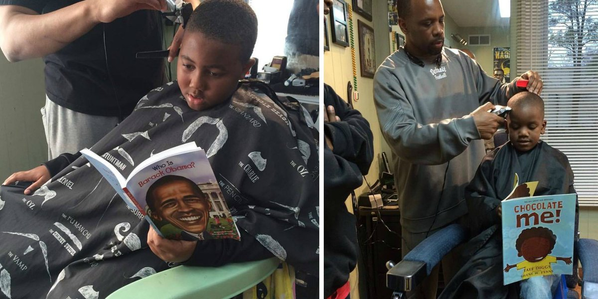 Barber cuts prices for kids who read aloud during appointment https://t.co/JpSGc1vX32 https://t.co/DwWv9VWB51
