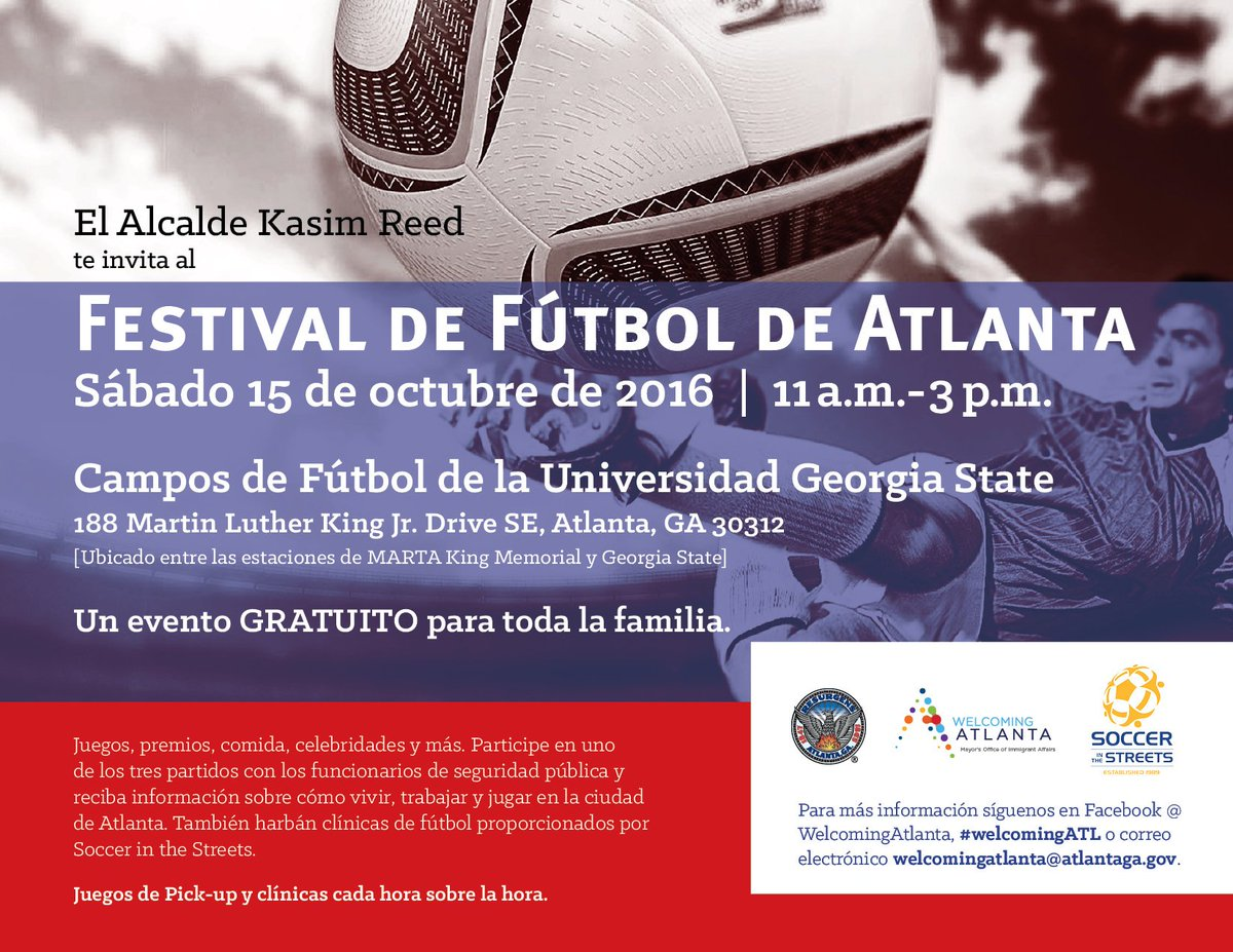 City Of Atlanta Ga On Twitter Join Welcomingatl This Saturday At