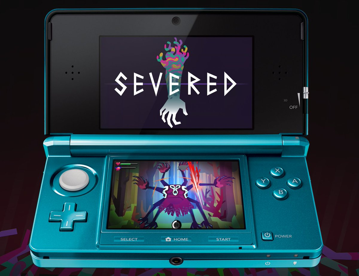 #SEVERED is now available on Nintendo 3DS In North America! https://t.co/4yaLtg25li