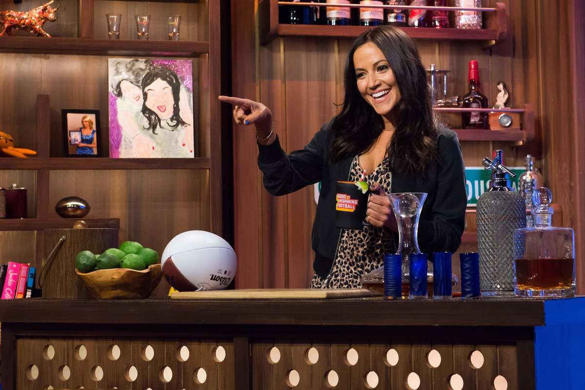 Good Morning Football : Welcome heykayadams to our bar she s the co host of
