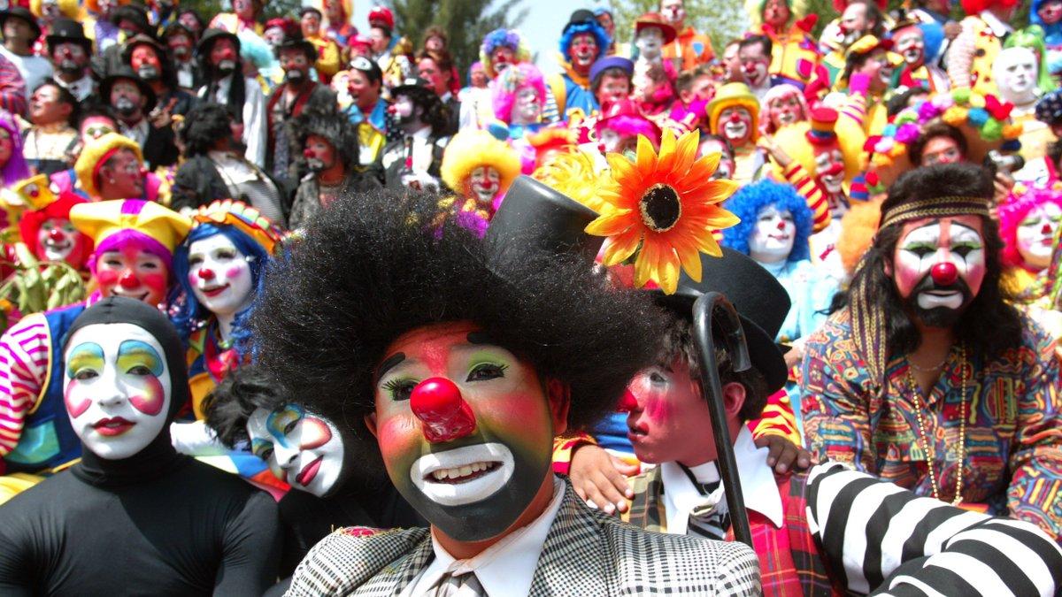 Фестиваль клоунов картинки